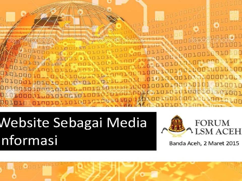 Website Sebagai Media Informasi